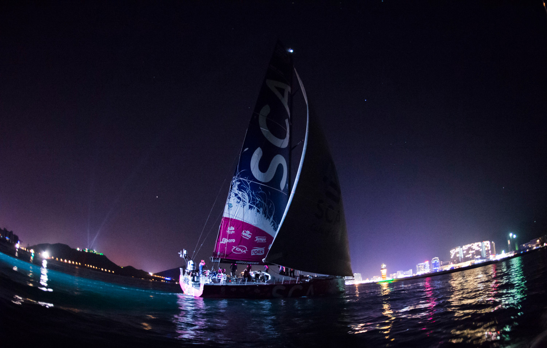 Volvo Ocean Race 2014-15 - Leg 3 arrivals