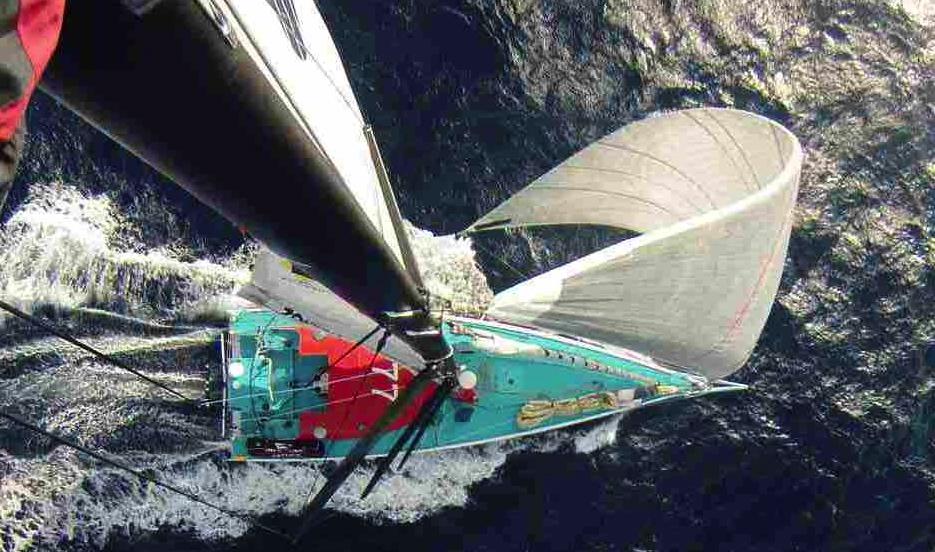 08-01-2015, Barcelona World Race 2014-15, Onboard Spirit of Hungary with Nandor Fa and Conrad Colman