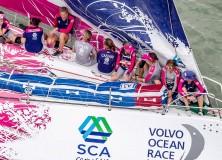 Volvo Ocea Race  2014-2015 / Partita la sesta tappa